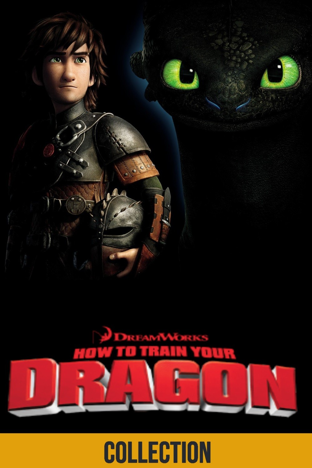 How To Train Your Dragon Plex Collection Posters