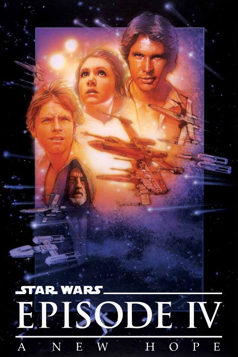 Star Wars Episode Iv A New Hope Plex Collection Posters
