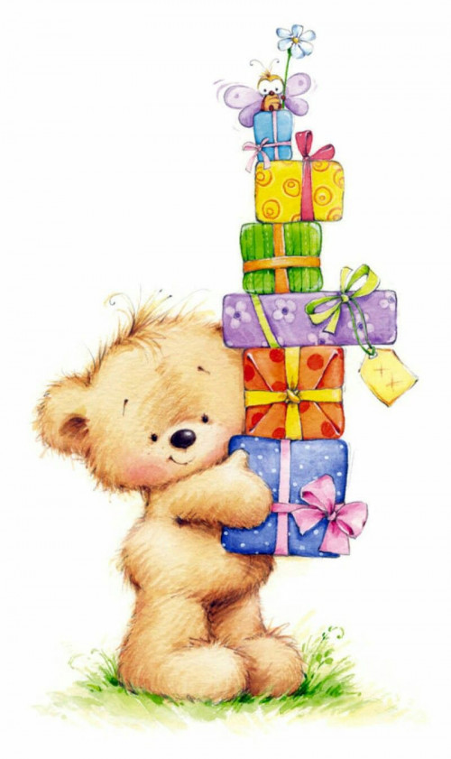 happy birthday bear in hd free download